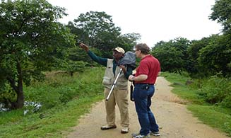 Nature walks & birding with our resident naturalist